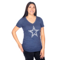 Dallas Cowboys Nike Womens Tri Stamp Tee
