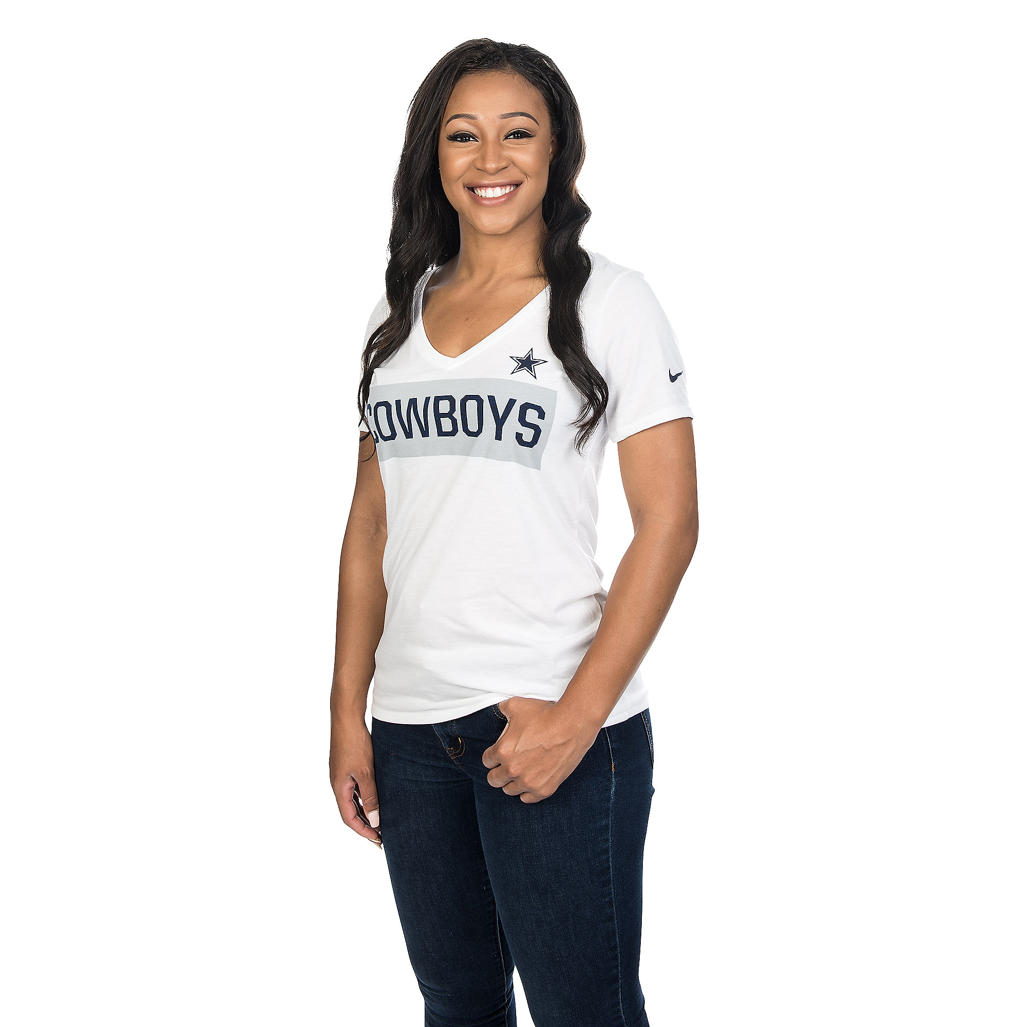 Dallas Cowboys Nike Tailgate V-Neck Tee