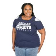 Dallas Cowboys Plus Size Commodore Tee