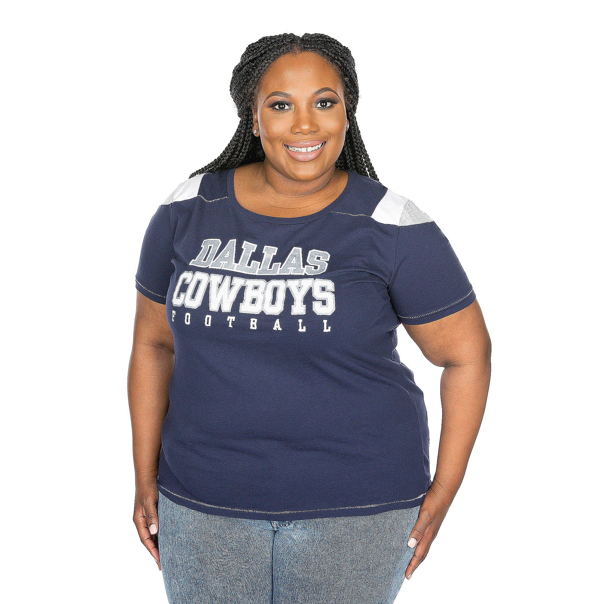 Dallas Cowboys Plus Size Commodore Tee