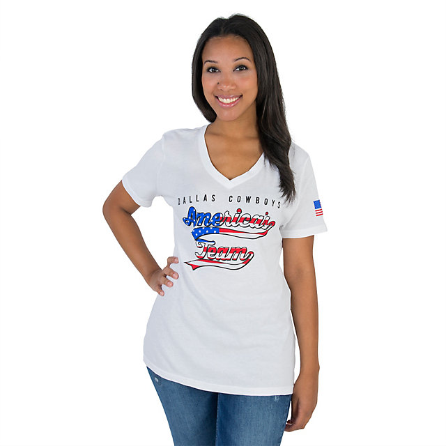 Dallas Cowboys Ladies Free Will Tee