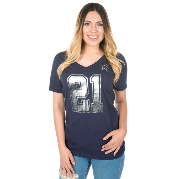 Dallas Cowboys Zeke Shimmer Away Tee
