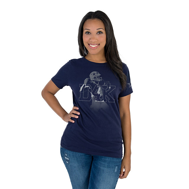Dallas Cowboys Womens Dak Prescott D4K Tee