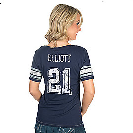 Dallas Cowboys Newcomb Ezekiel Elliott Tee