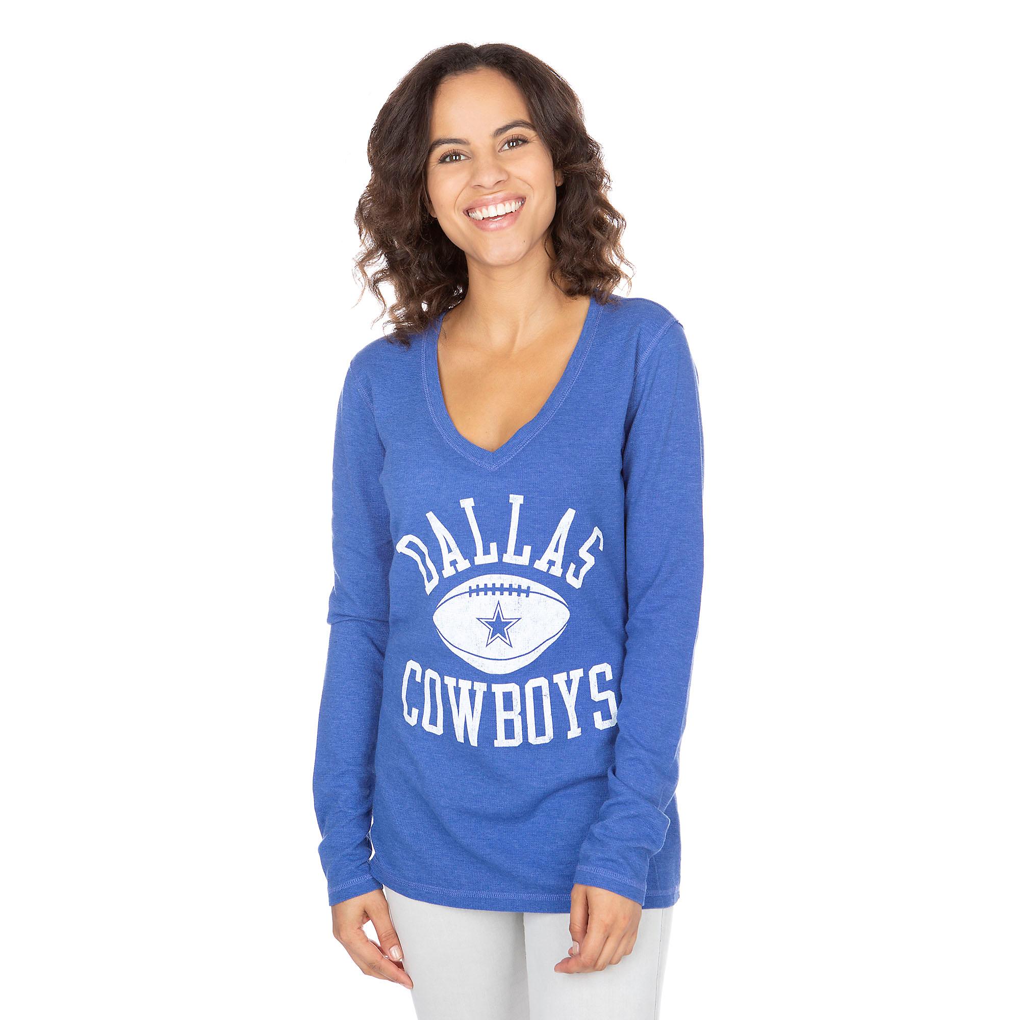 Dallas Cowboys Alvord Thermal Long Sleeve Tee