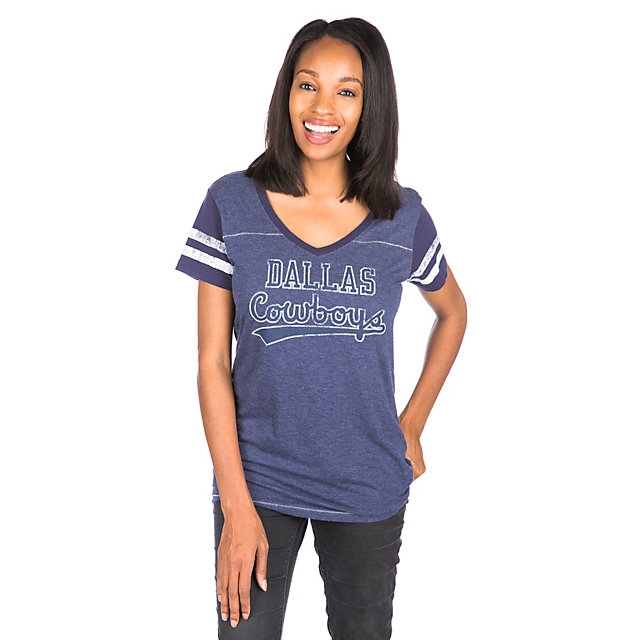 Dallas Cowboys Midrose Tail Sweep Tee