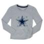 Dallas Cowboys Girls Zamora Long Sleeve Tee