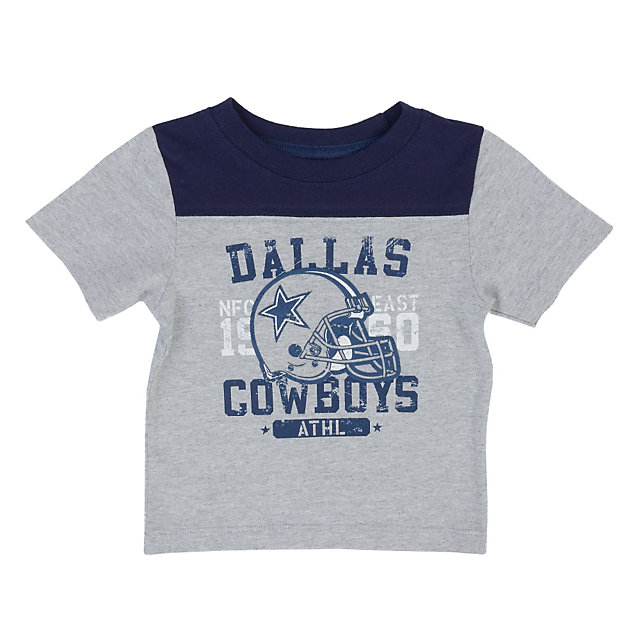 Dallas Cowboys Infant Burris Yoke Tee