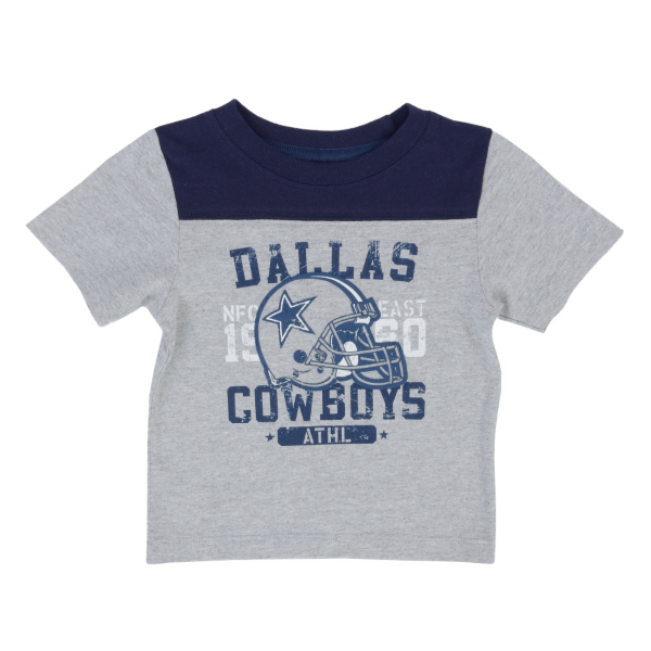 Dallas Cowboys Infant Burris Yoke Tee