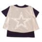 Dallas Cowboys Toddler Cortina Cape Tee