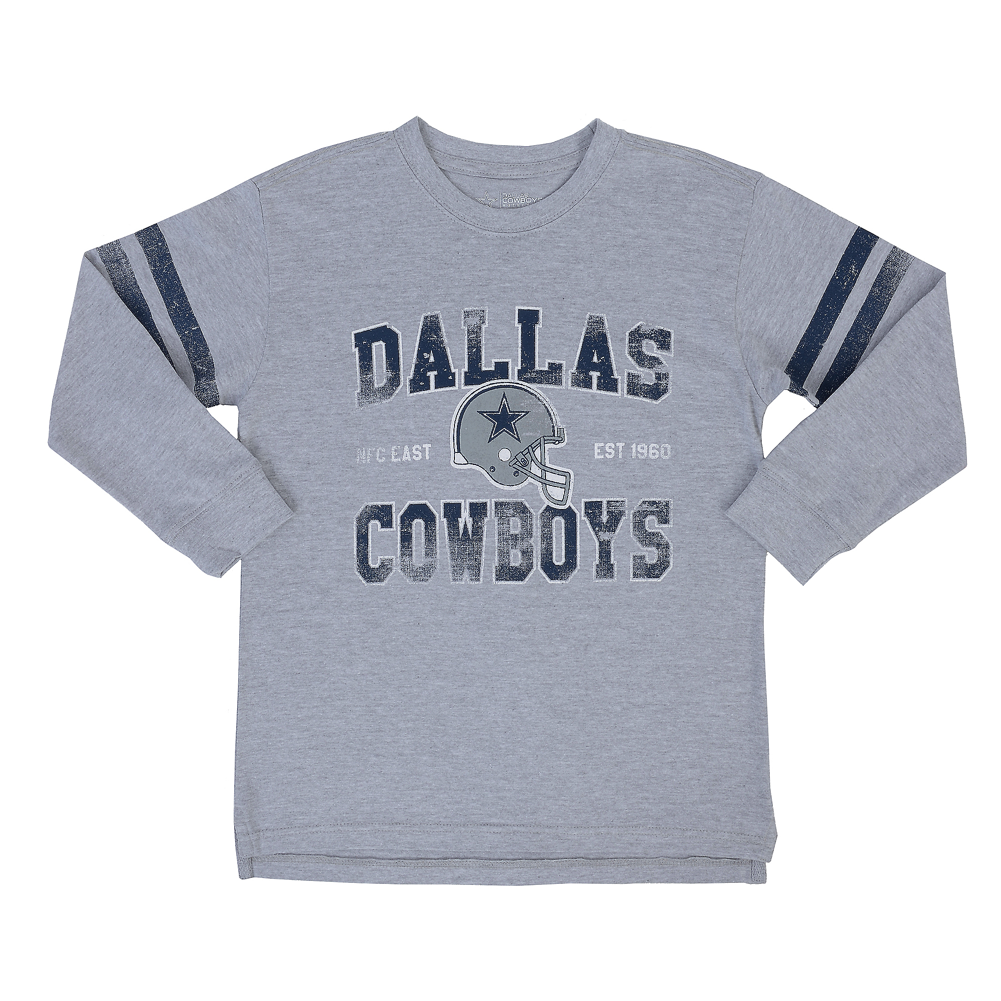 Dallas Cowboys Youth Newton Long Sleeve Tee
