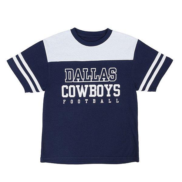 Dallas Cowboys Youth Charlie Colorblock Short Sleeve Tee