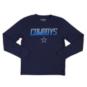 Dallas Cowboys Youth Glanton Long Sleeve Performance Tee