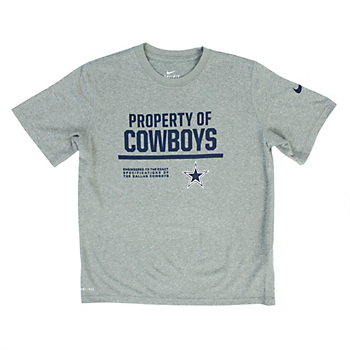 Dallas Cowboys Nike Youth Property Of Tee a126c31ae