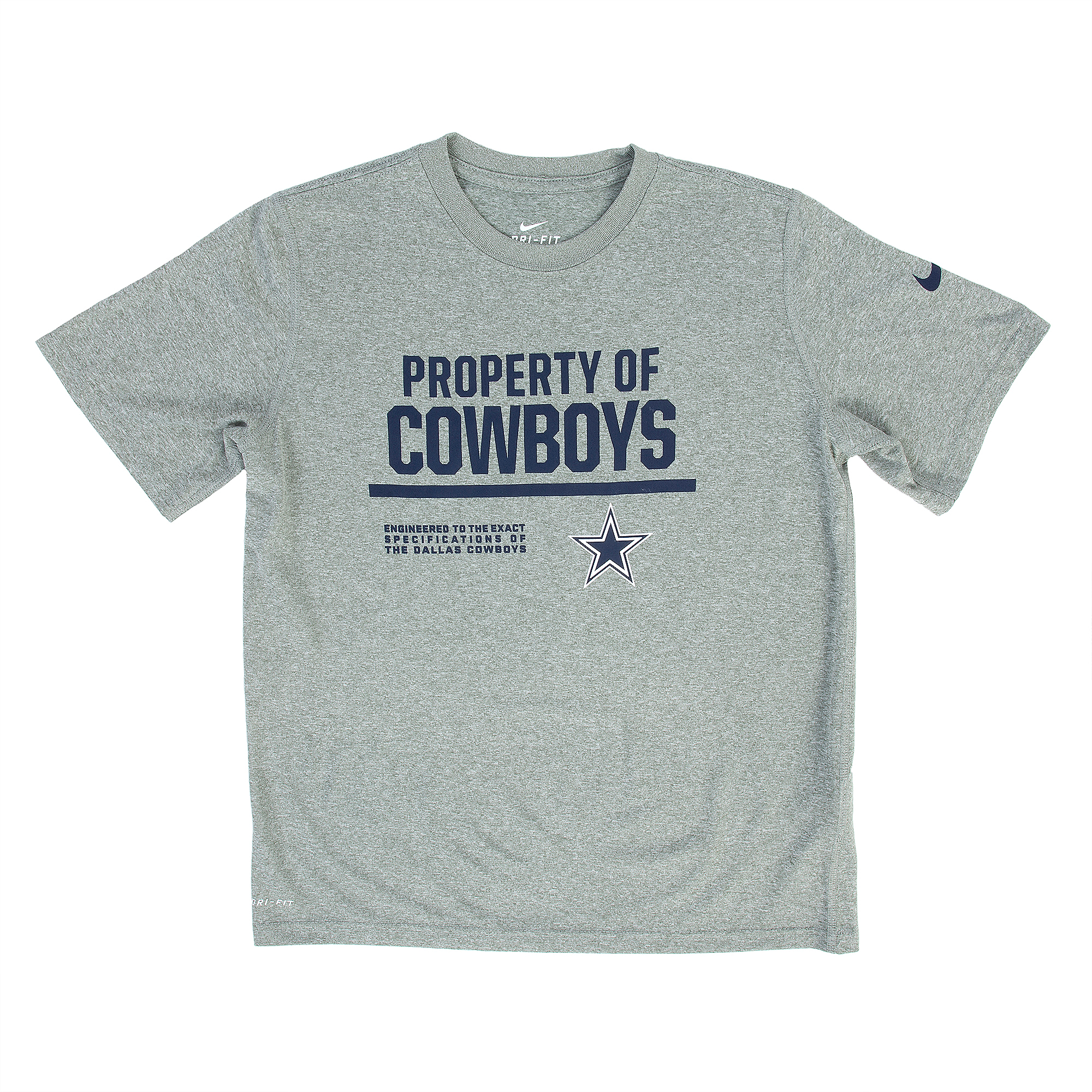 Dallas Cowboys Nike Youth Property Of Tee