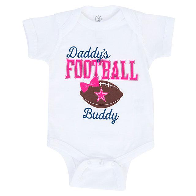 f8530bb25 ... Dallas Cowboys Infant Daddys Girl Bodysuit Infant Outfits Infant Kids  Cowboys Catalog Dallas Cowboys Pro ...