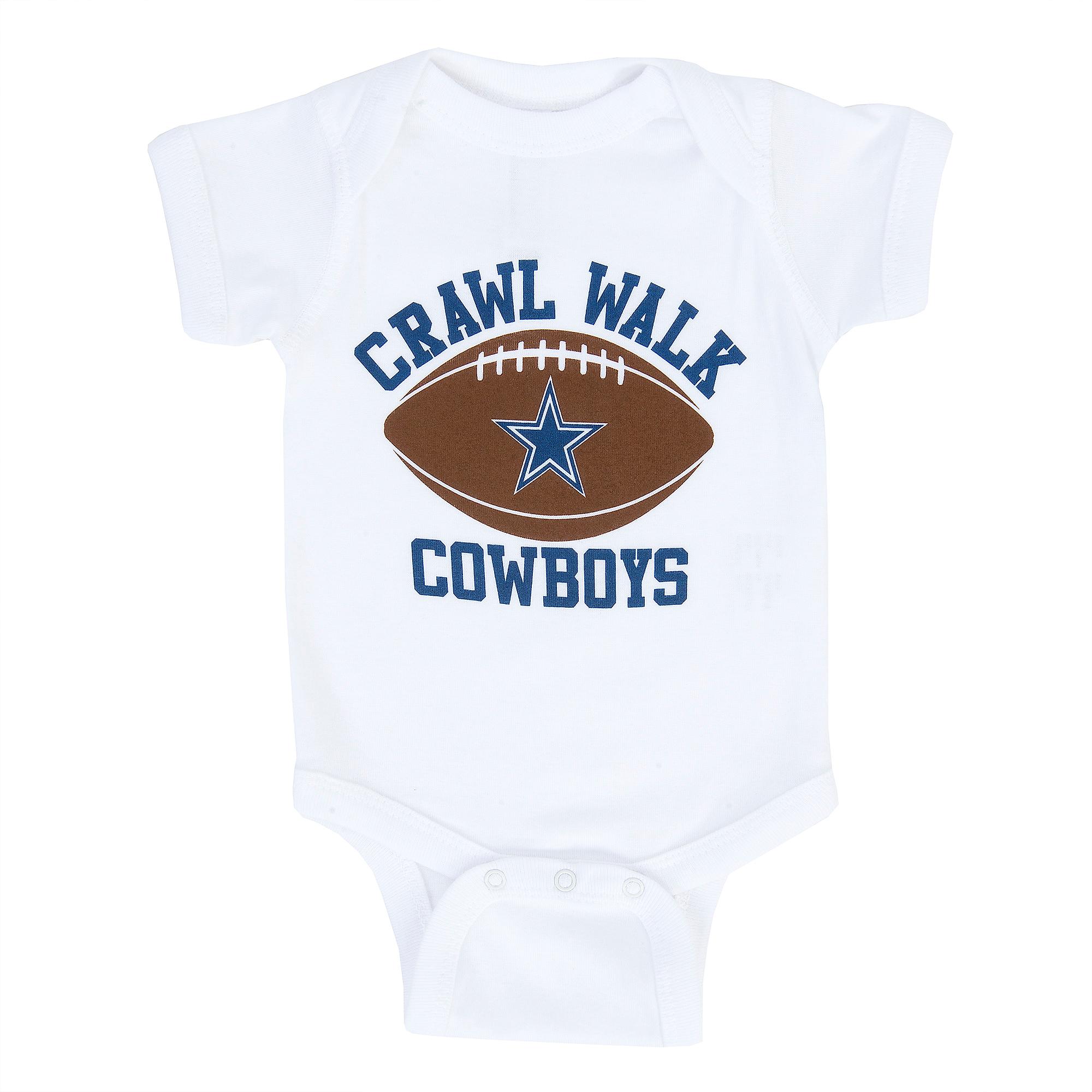 Dallas Cowboys Infant Crawl Walk Cowboys Bodysuit