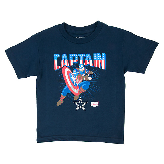 Dallas Cowboys MARVEL Kids Team Captain Tee
