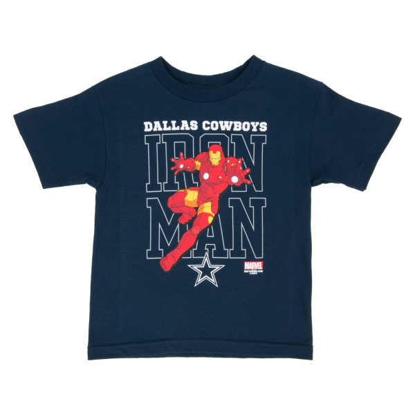 Dallas Cowboys MARVEL Kids Iron Defender Tee