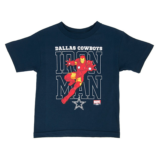 Dallas Cowboys MARVEL Toddler Iron Defender Tee