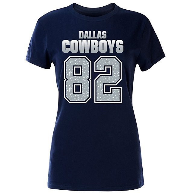 Dallas Cowboys Girls Jason Witten #82  Name & Number Tee
