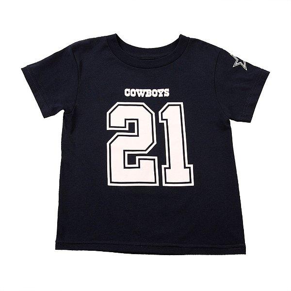 Dallas Cowboys Kids Ezekiel Elliott #21 Player Tee
