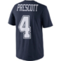 Dallas Cowboys Nike Youth Dak Prescott #4 Player Pride T-Shirt