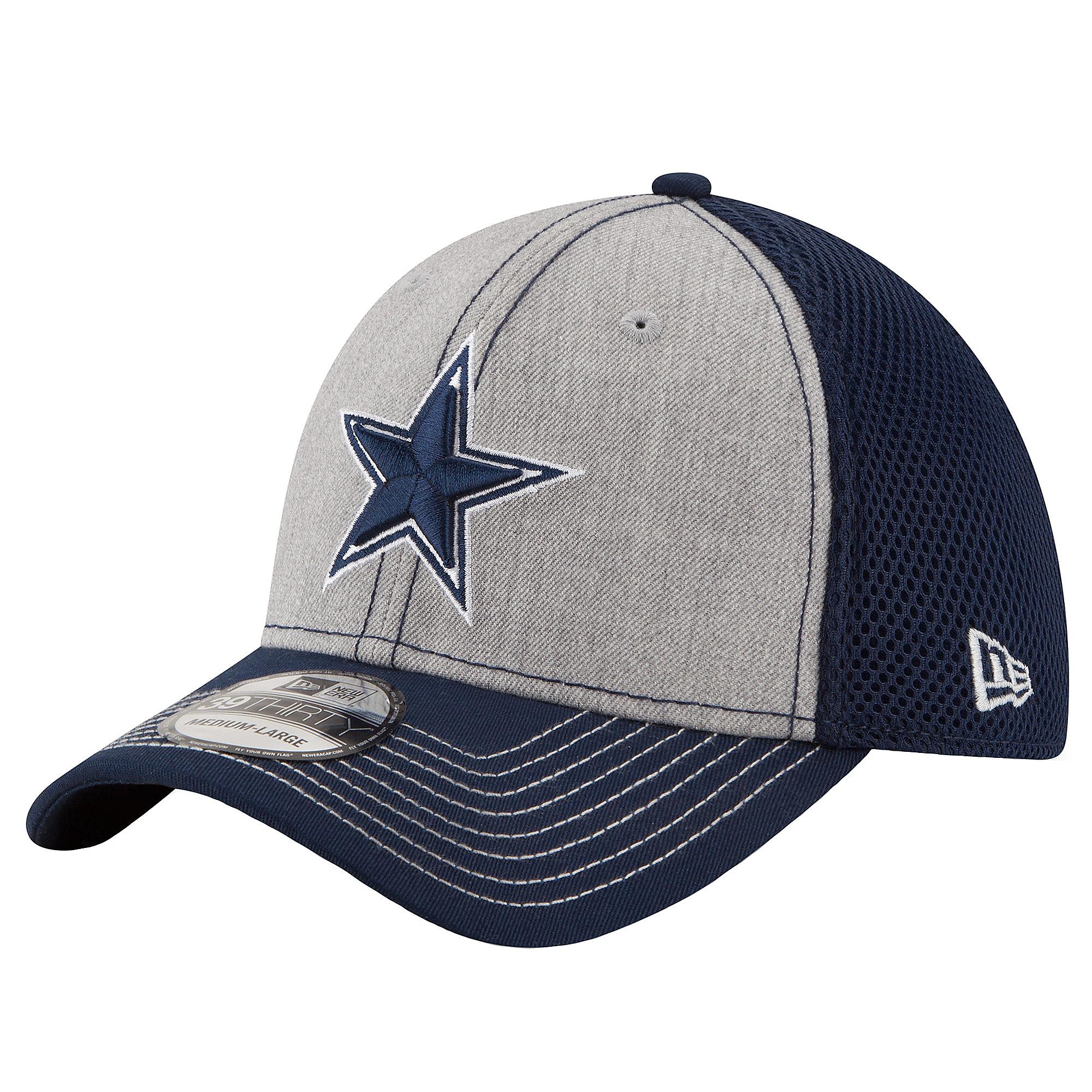 size 40 548e8 2fcd1 ... where to buy dallas cowboys new era heathered neo 39thirty cap 8e0b4  9fb4c