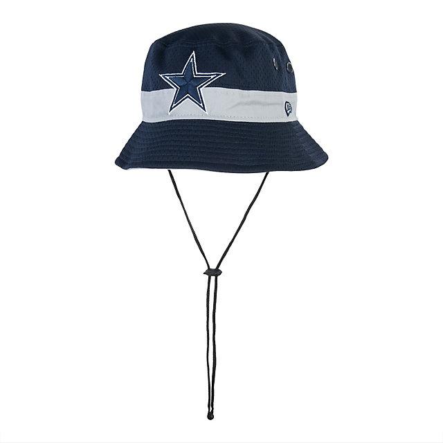 Dallas cowboys new era jersey pop bucket hat adjustable for Dallas cowboys fishing shirt
