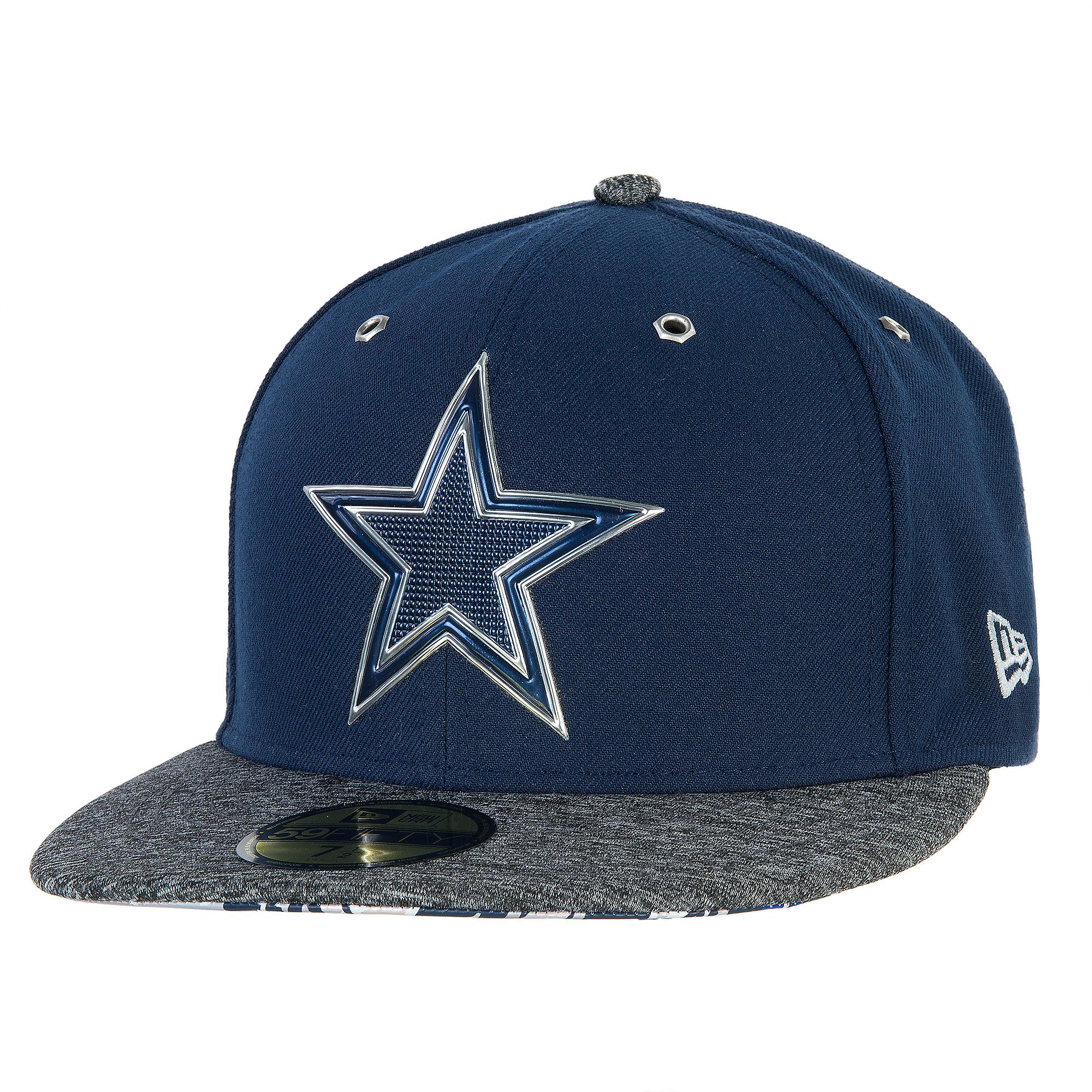 ... Dallas Cowboys New Era 2016 Mens On Field Draft 59Fifty Cap ... e13e6d98c