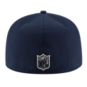 Dallas Cowboys New Era Bevel Team Fitted 59Fifty Cap