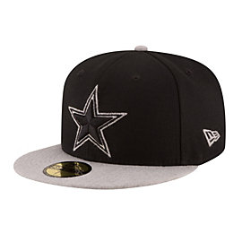 Dallas Cowboys New Era Heather Fresh Fitted 59Fifty Cap