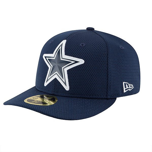 Dallas Cowboys New Era Bevel Team Low Crown 59Fifty Cap