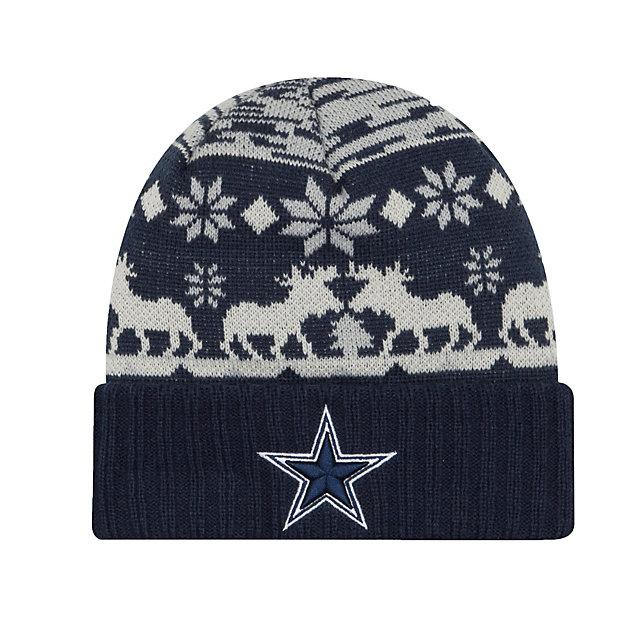 Dallas Cowboys New Era Team Mooser Knit Hat