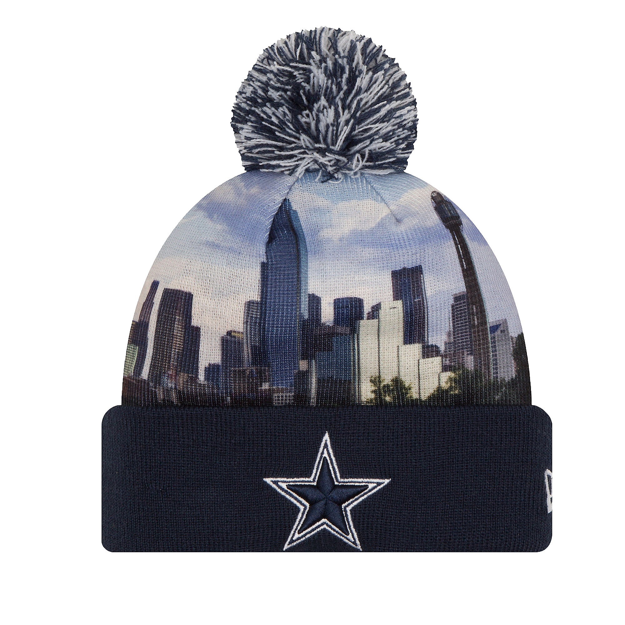 d42a1e17af9 ... inexpensive dallas cowboys new era all out knit hat 5a104 3ee1c