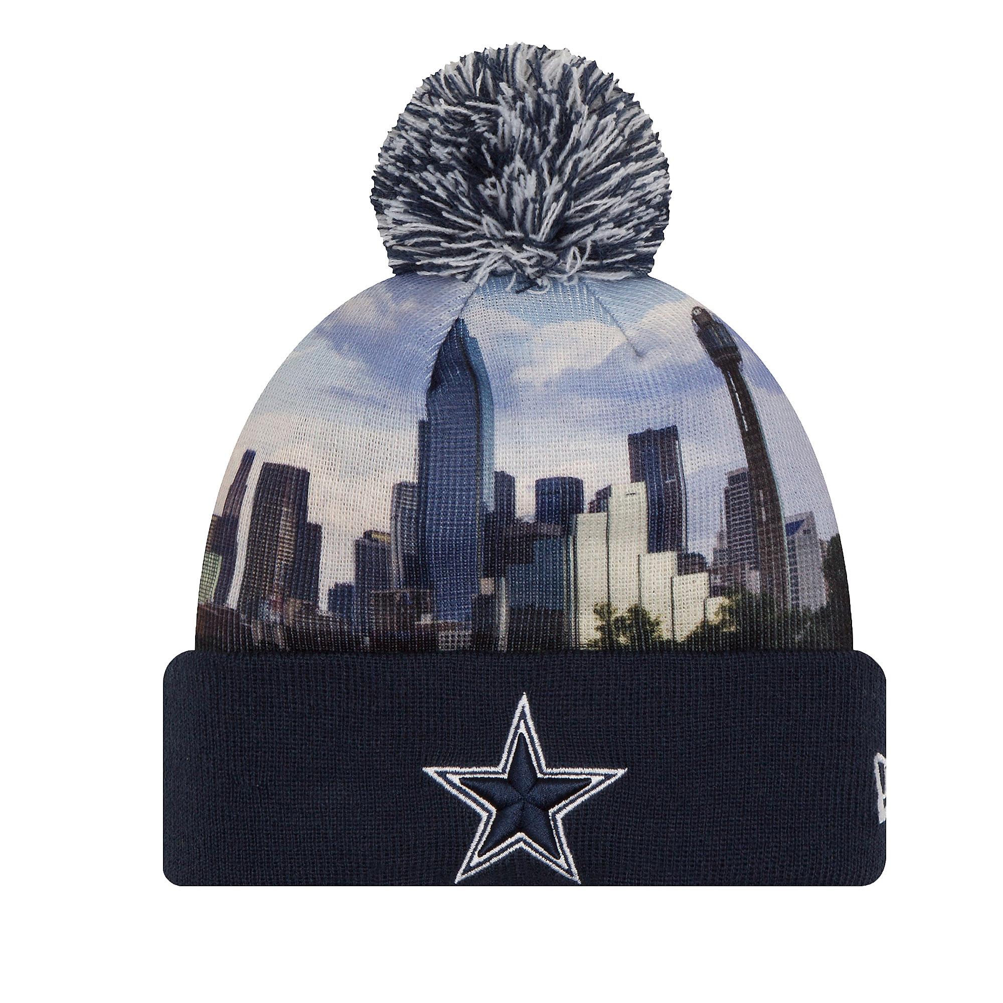 7bd68ed63 Dallas Cowboys New Era All Out Knit Hat | Dallas Cowboys Pro Shop