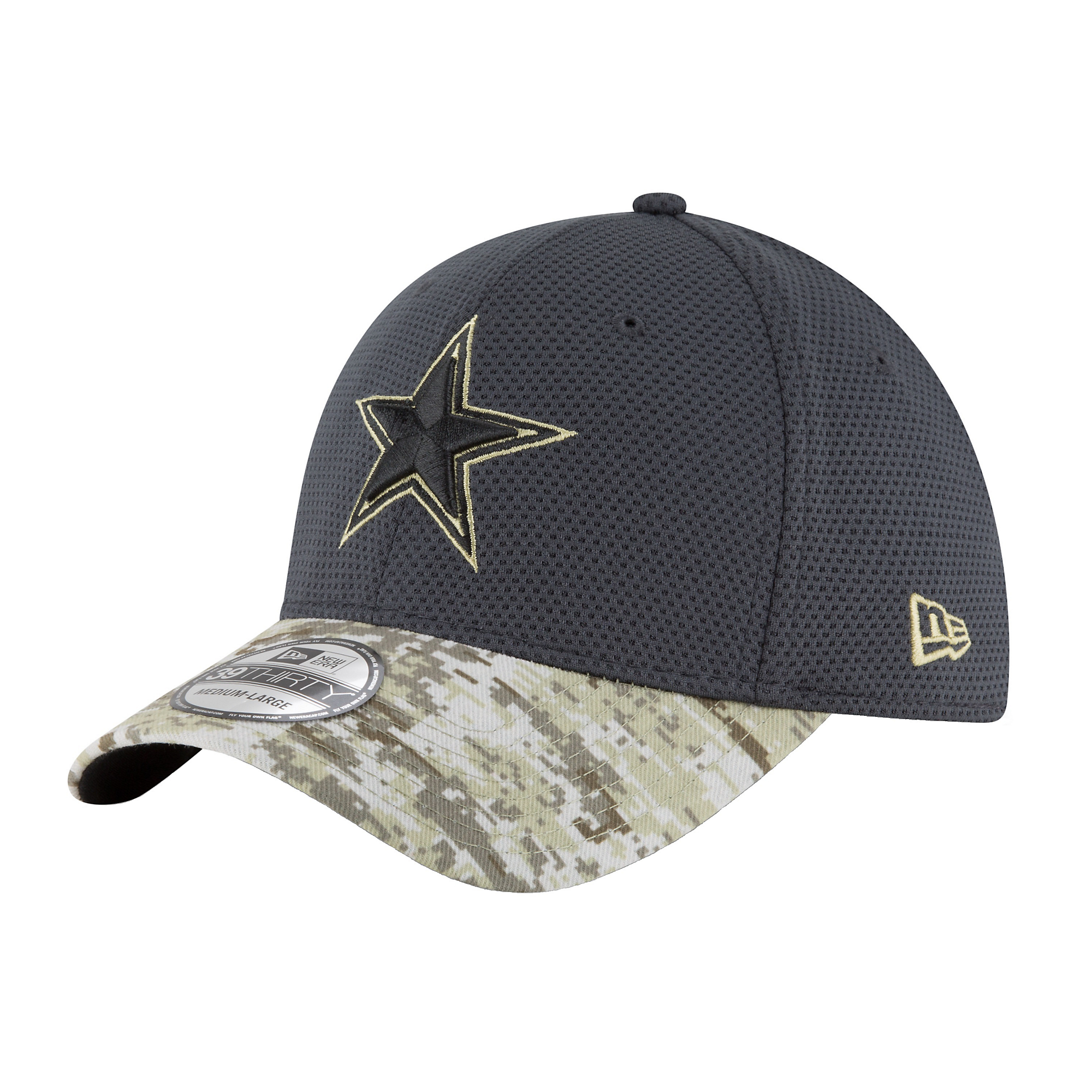 huge discount c0f31 d89d1 Dallas Cowboys New Era Salute to Service 39Thirty Cap