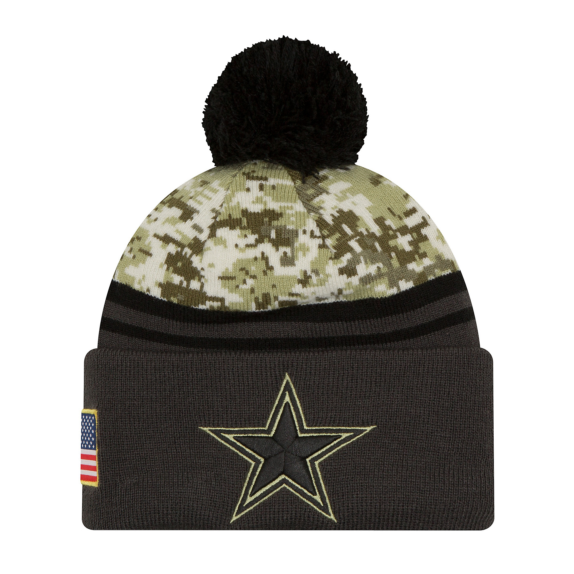Dallas Cowboys New Era Salute to Service Sport Knit Hat  103dca9a1249