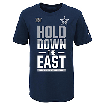Dallas Cowboys Nike Youth 2016 NFC East Division Champs Tee