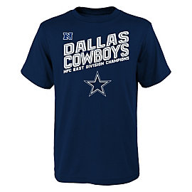 Dallas Cowboys Youth 2016 NFC East Division Champs Tee