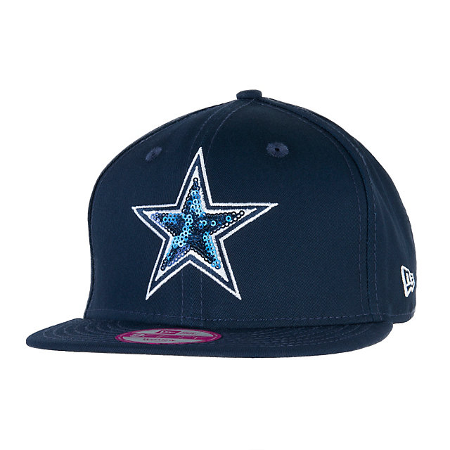 Dallas Cowboys New Era Glimmer Mixer 9Fifty Cap