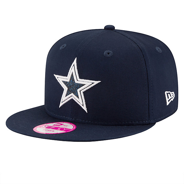 Dallas Cowboys New Era Team Glisten Snap 9Fifty Cap