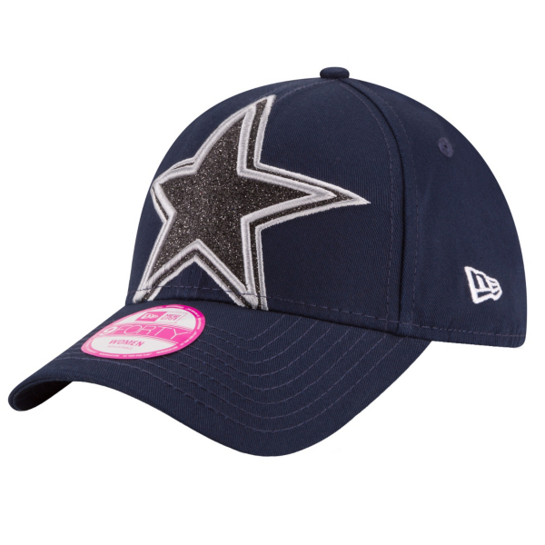 Dallas Cowboys New Era Glitter Glam 2 9Forty Cap