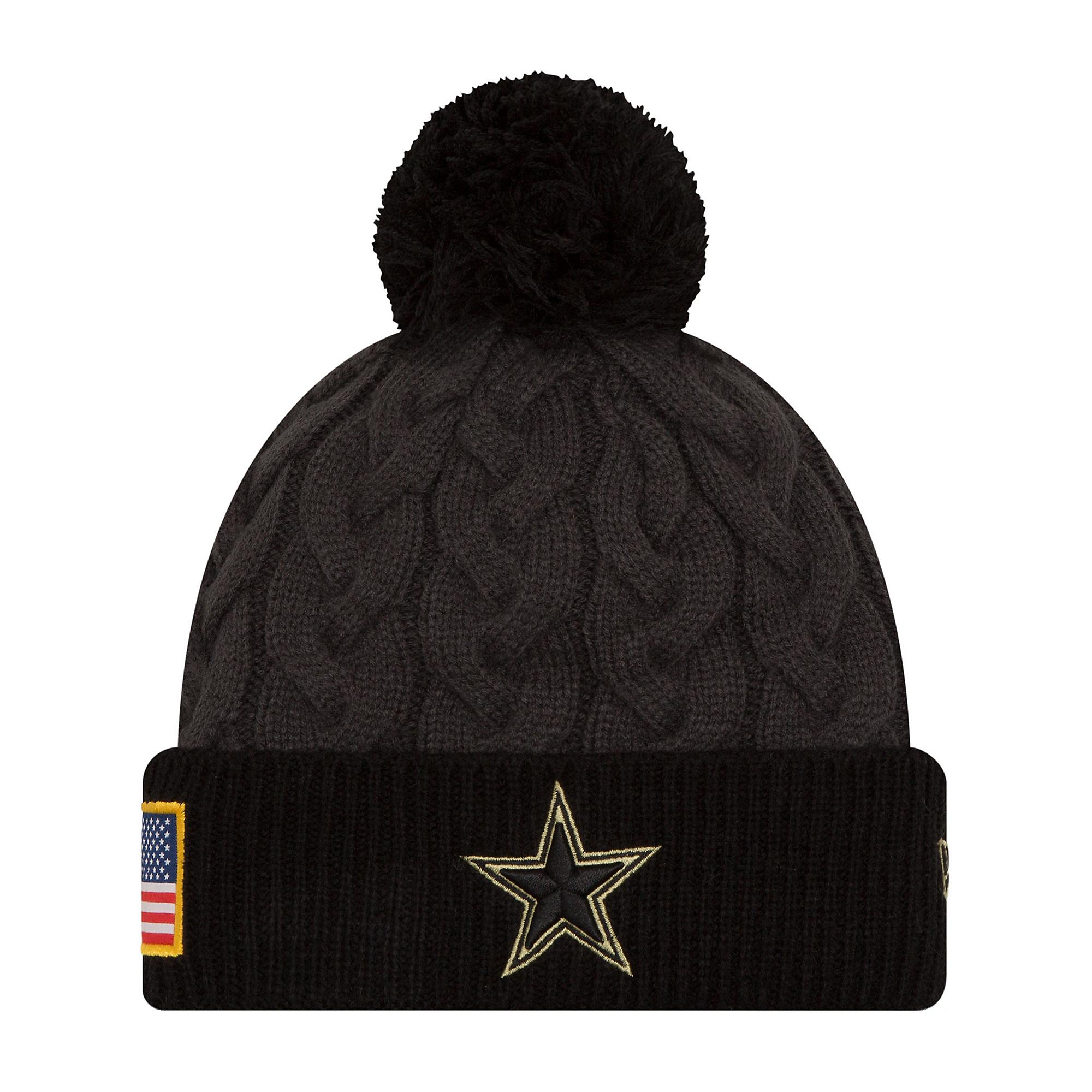 53cee08d47b Dallas Cowboys New Era Salute to Service Womens Knit Hat