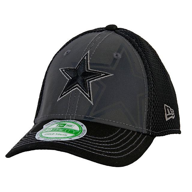 Dallas Cowboys New Era Jr Shadow Reflect 39Thirty Cap
