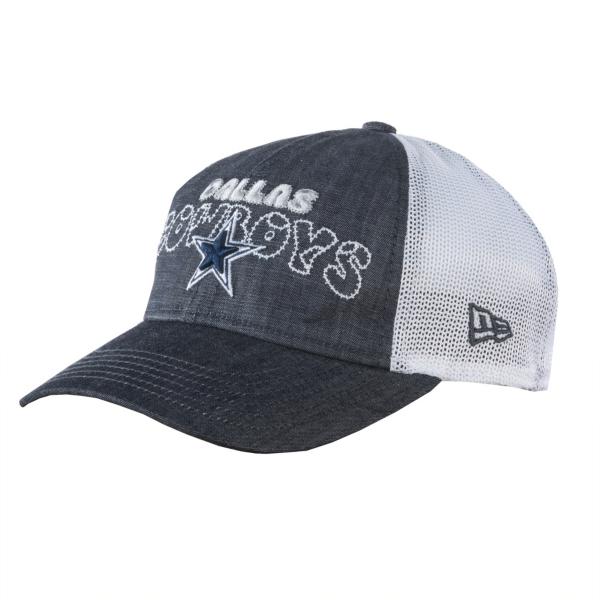 Dallas Cowboys New Era Denim Stitcher 9Twenty Cap