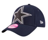 Dallas Cowboys New Era Jr Glitter Glam 2  Cap
