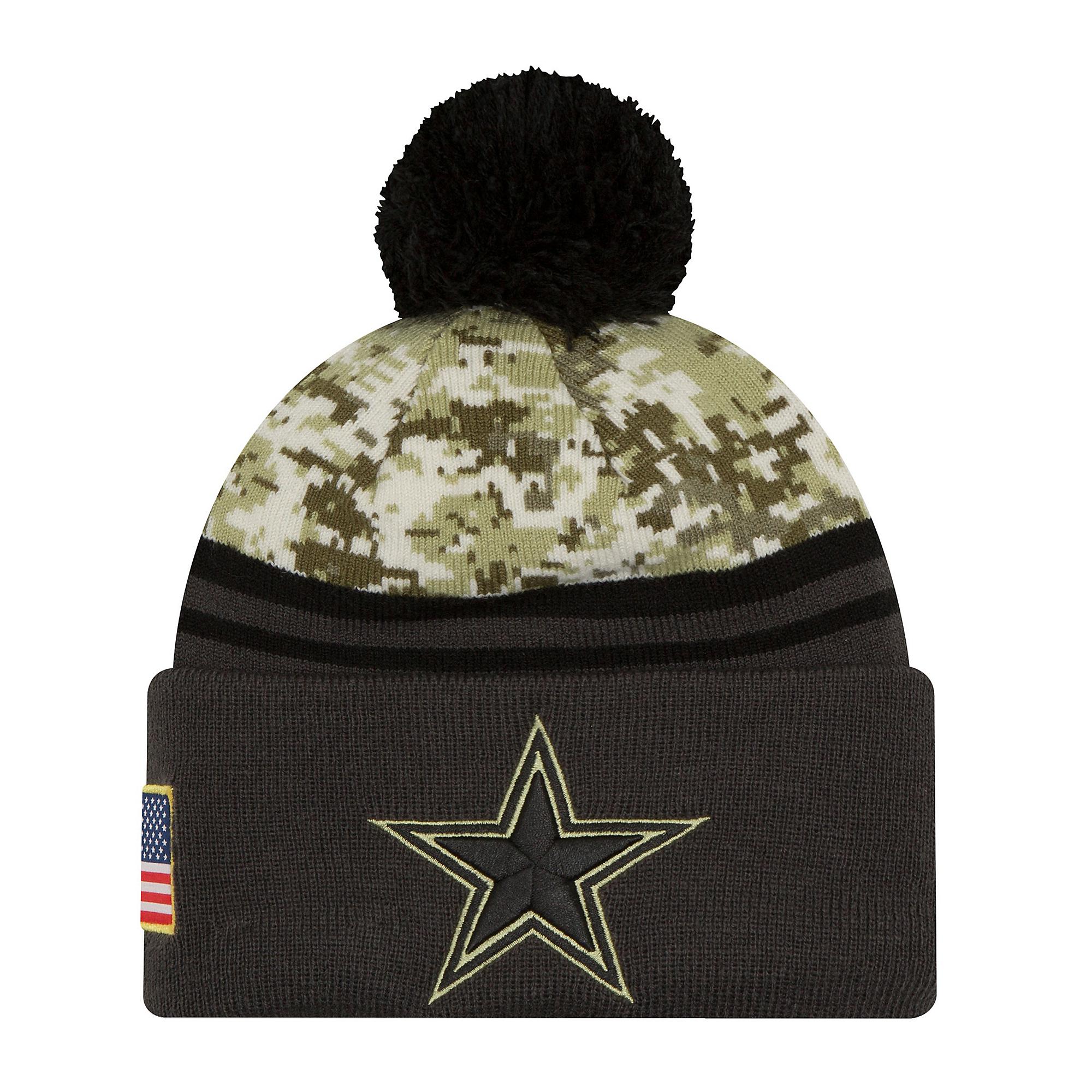 018d6ddc73dc3 Dallas Cowboys New Era Salute to Service Youth Sport Knit Hat   Dallas  Cowboys Pro Shop