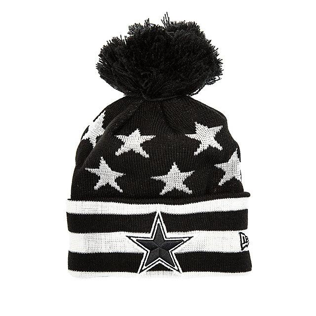 Dallas Cowboys New Era Jr Starry Knit Hat