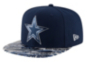 Dallas Cowboys New Era Youth On-Field Kickoff Print 9Fifty Cap